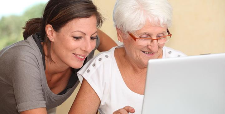 Sarasota senior caregivers shopping