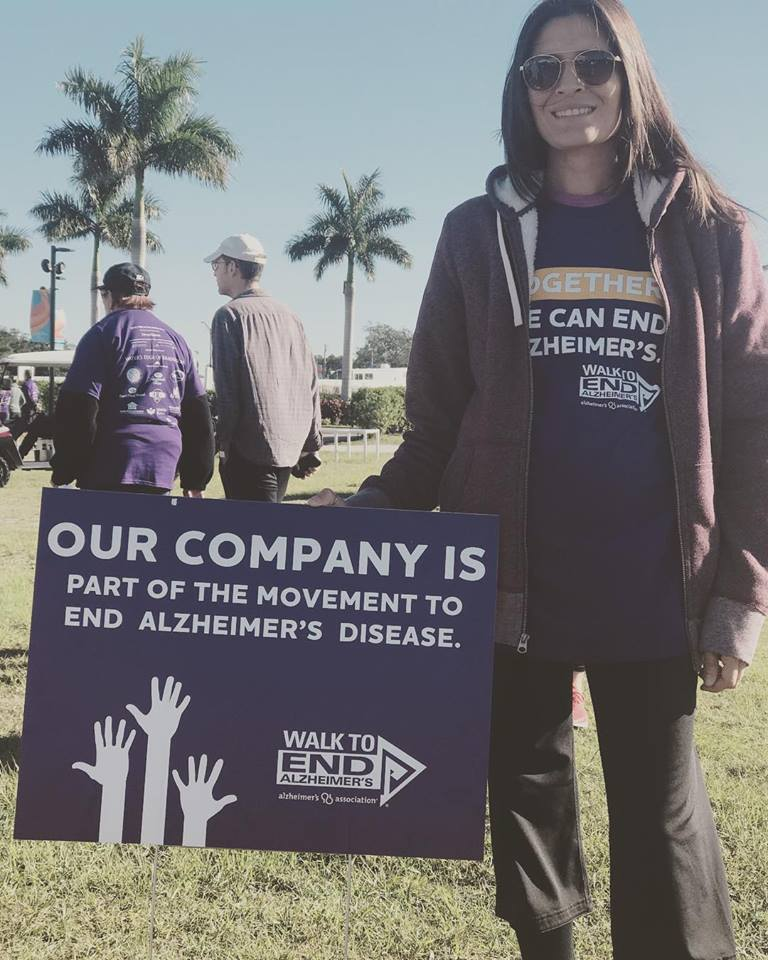 Walk to end Alzheimer - Senior Home Care Sarasota