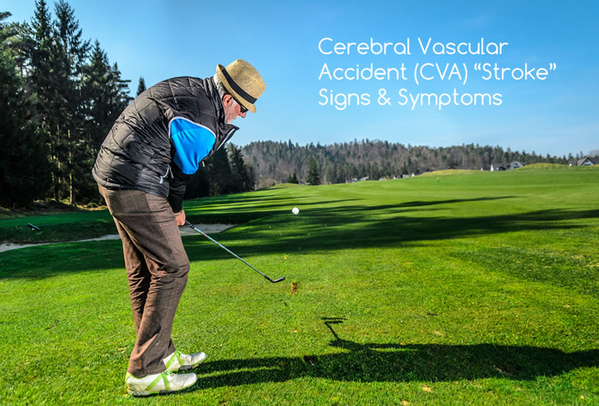 Cerebral Vascular Accident (CVA) Stroke in Seniors