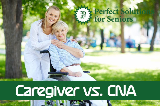 Caregiver vs CNA - Perfect Solutions For Seniors