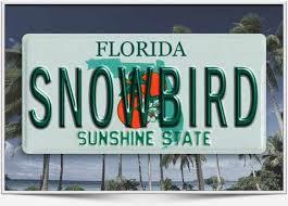 Snowbird Season Florida